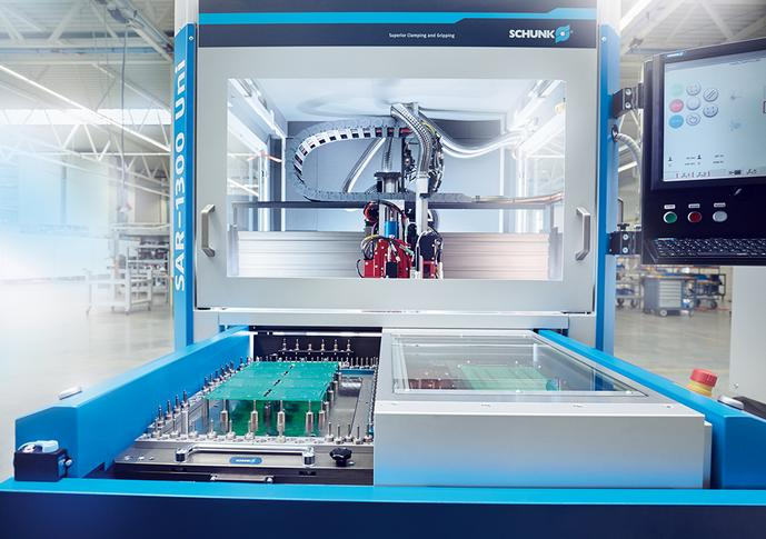 Schunk introduces fast depanelling machine