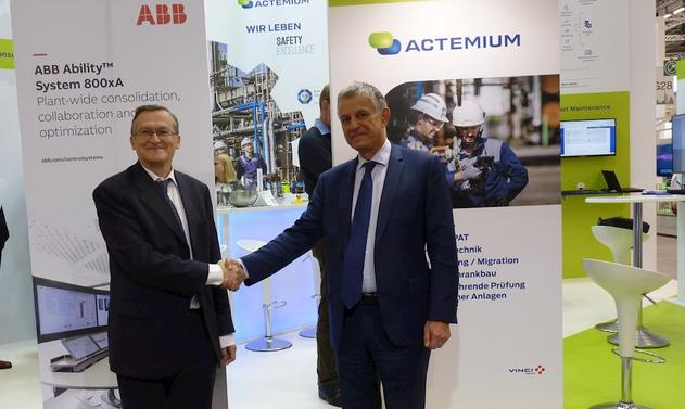 ABB Control Technologies and Actemium sign global cooperation agreement