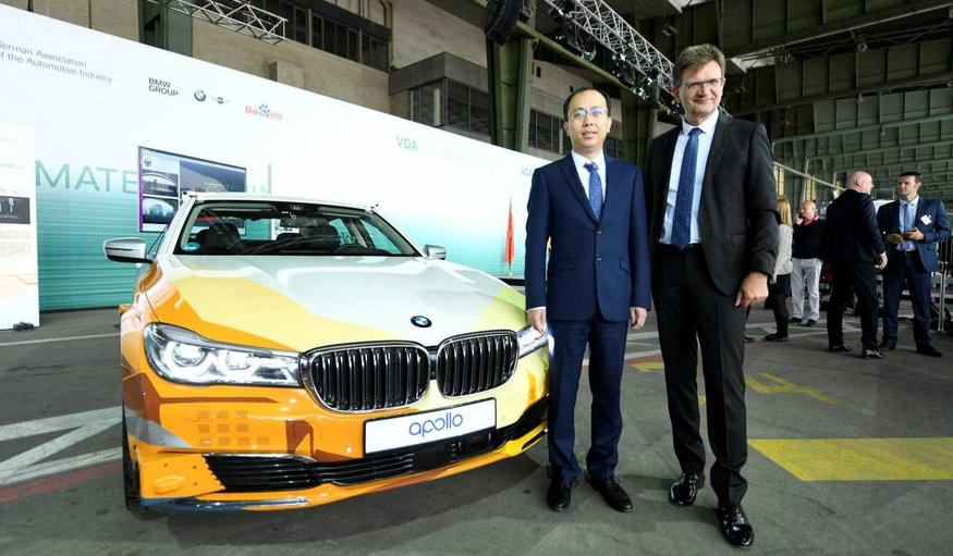 BMW Group and Baidu join forces on autonomous driving in China