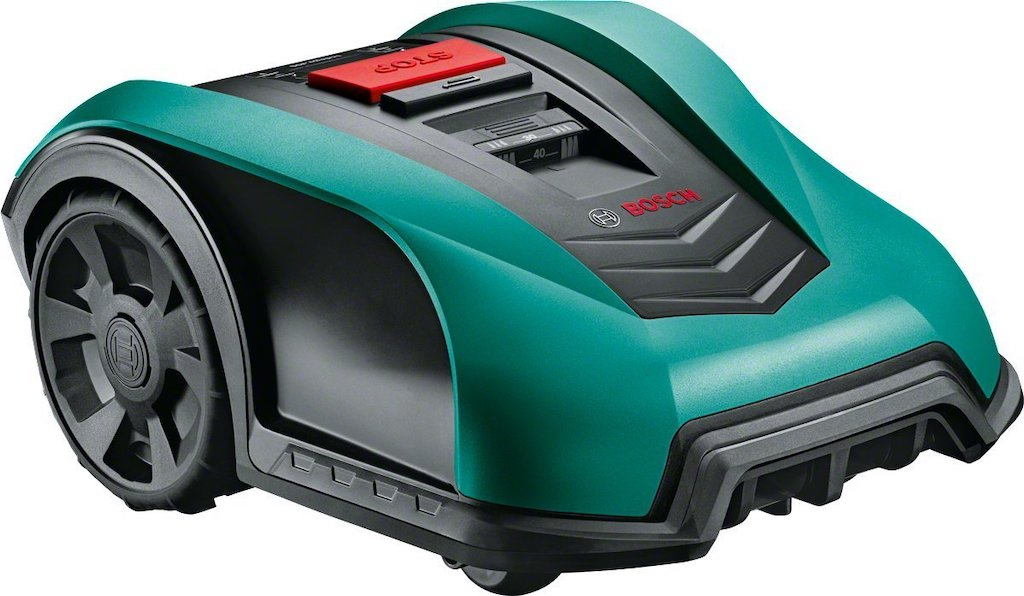 Bosch Indego 350 Connect Robotic Lawnmower – Green