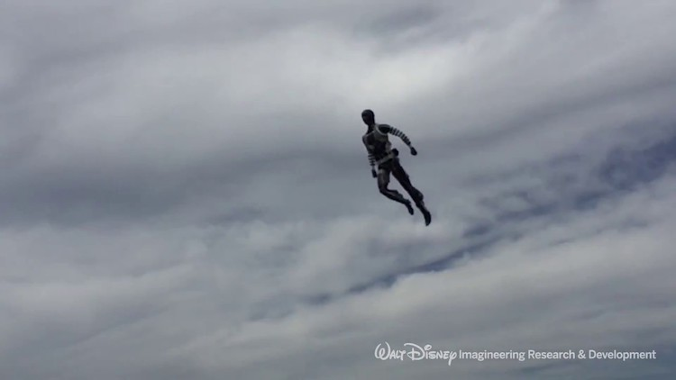 Disney demonstrates humanoid robot that can fly and perform acrobatics