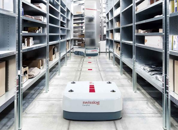 Swisslog Wins Carrypick Order With Waytek