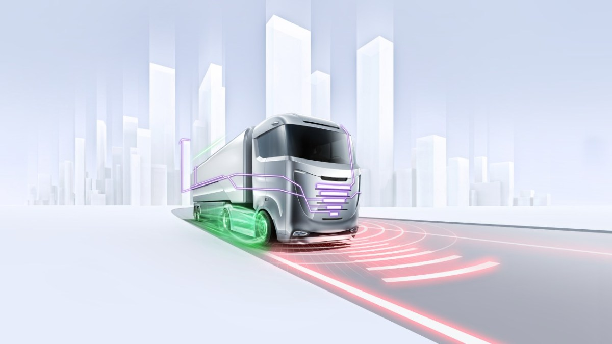 Bosch reveals ideas for autonomous technology for trucks