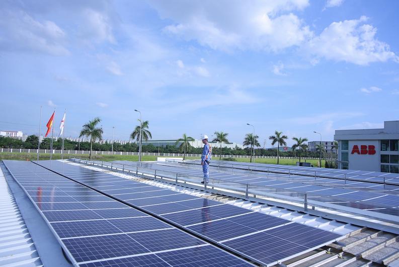 ABB installs solar power at its factory in Vietnam
