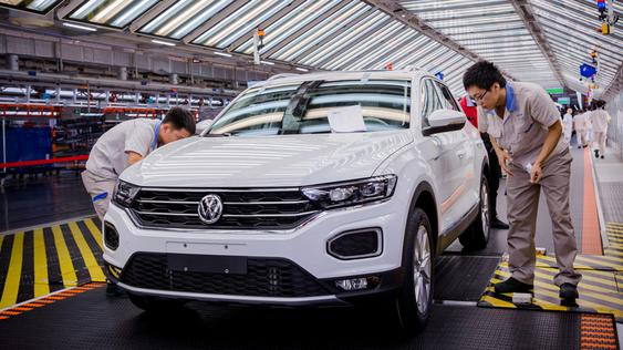 Volkswagen expands production in China