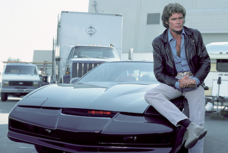 You too can pretend to be David Hasselhoff and talk to your car