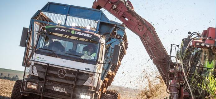 Mercedes builds 18 autonomous trucks for sugar cane harvesting