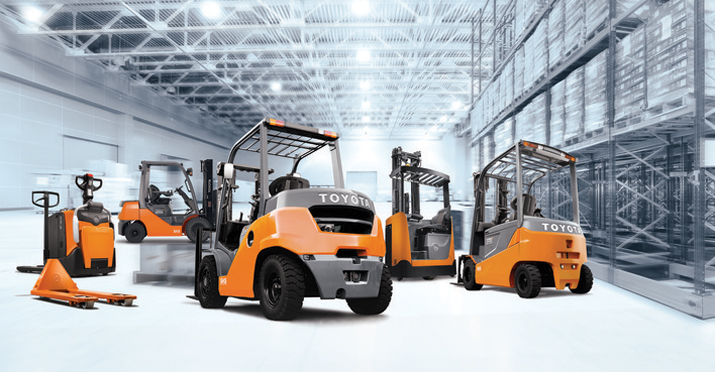 Superb Toyota Material Handling