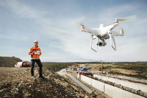 DJI launches new Phantom drone for construction surveying