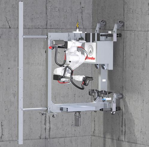Schindler debuts robotic system for lifts