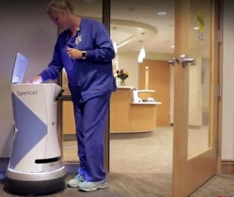 New service robot for hospital deliveries