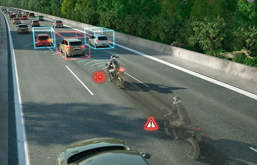 Continental to launch radar-based motorbike emergency brake assist