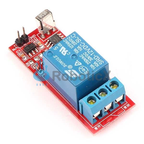 1 Channels Infrared Relay-02