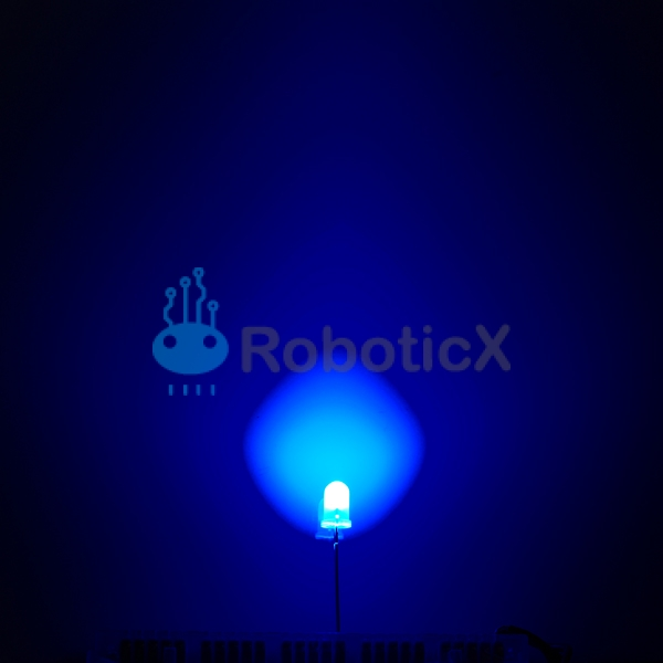 LED Blue 5mm-03