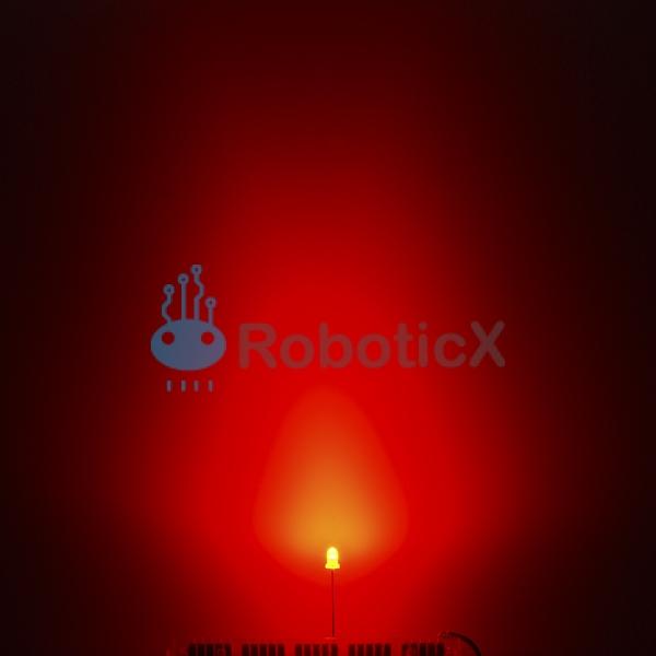 LED Red 3mm-03