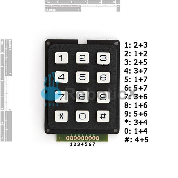 Keypad - 12 Button-02
