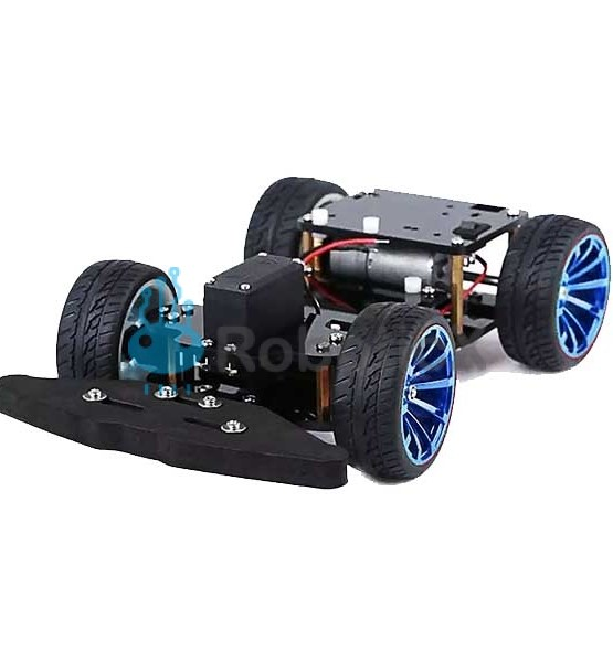 4WD RC Smart Car Chassis -01