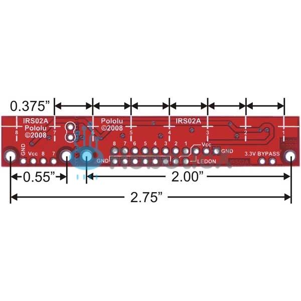 QTR-8RC -08