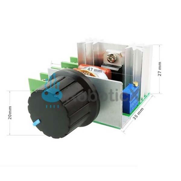 Dimmer Speed Temperature Controller -04