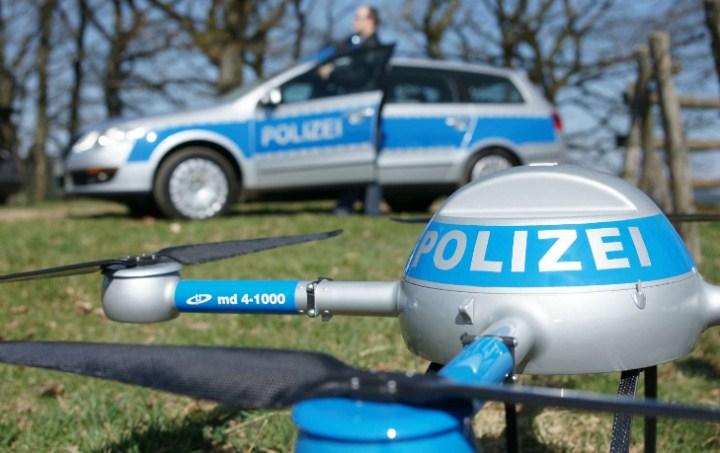 Dronare ska overvaka tyska klottrare