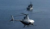 Autonom robothelikopter ska jaga pirater med laser