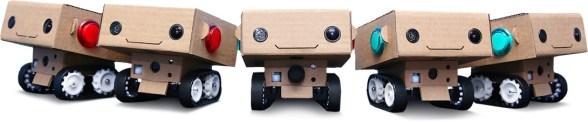 Filmande robotar på Sverigebesök