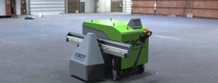 Svenska roboten CBot tar över tung plattsättning