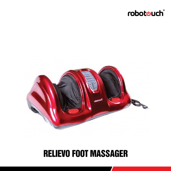 Robotouch Relievo Foot Massager-All In One Kneading, Shiatsu Rolling Foot Massager-0