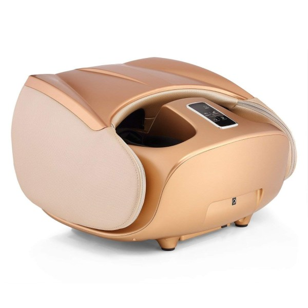 Robotouch Compact Foldable Leg and Foot Massager (Gold) -907