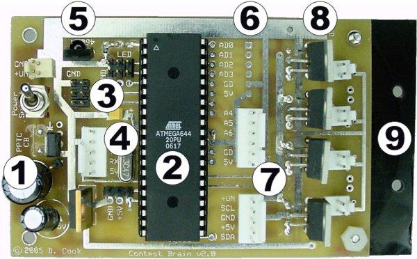 Regulated Led Driver Circuit Board For Diy Flashlight 153v Pair