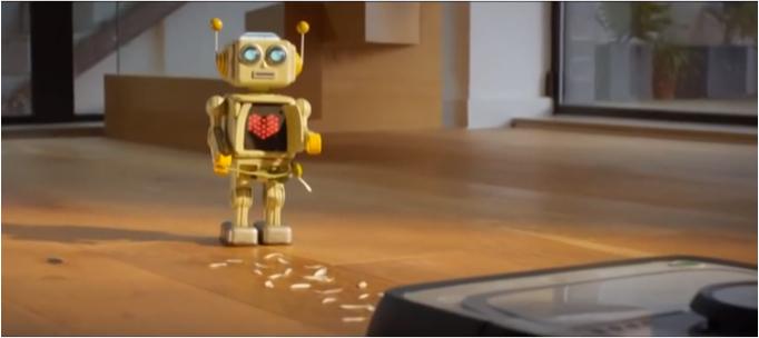 Vacuum Robot Love Story