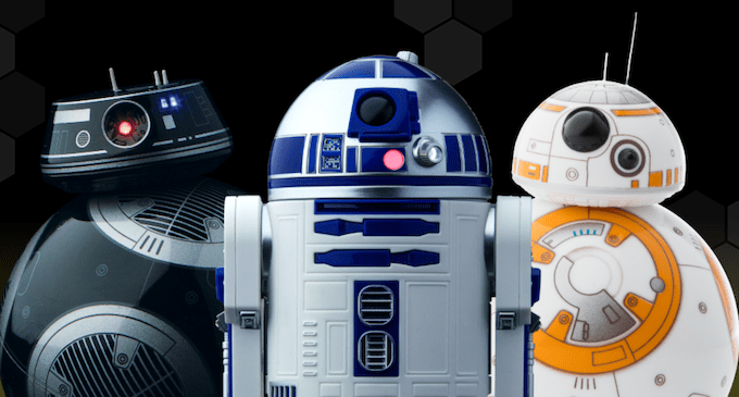Miniature Star Wars Droids by Sphero