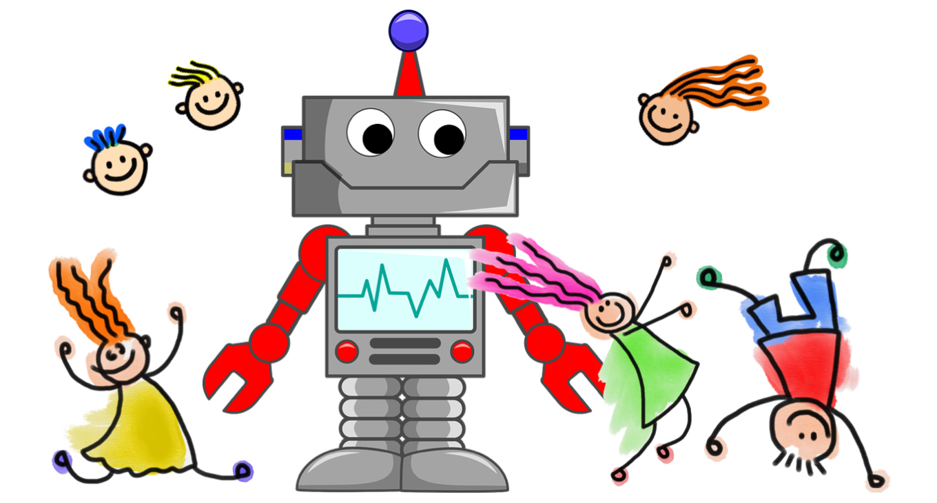 Education robots for kids and grownups