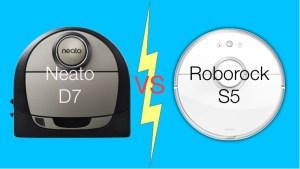 Neato D7 vs Roborock S5 best challengers to top Roomba vacuum robot