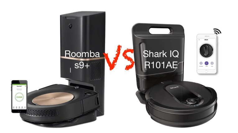Shark IQ R101AE Auto Empty vs Roomba s9+ Self-Cleaning Vacuum Robots