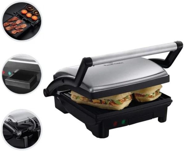 Russell Hobbs 17888-56 Réchaud sandwich / gril 3 en 1