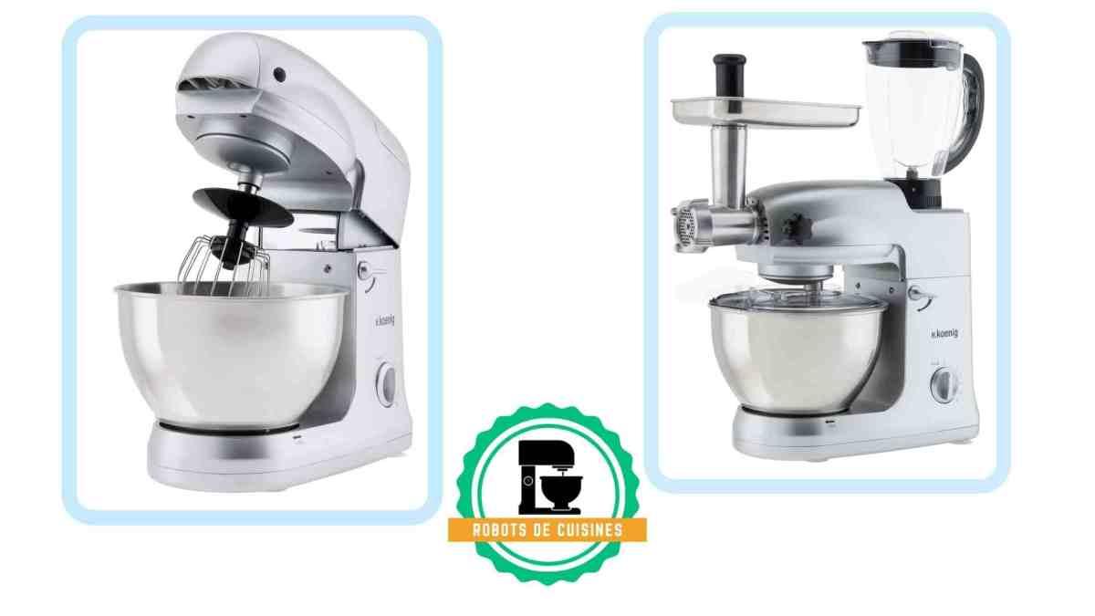 Robot pâtissier H.Koenig : quel est le meilleur modèle ?