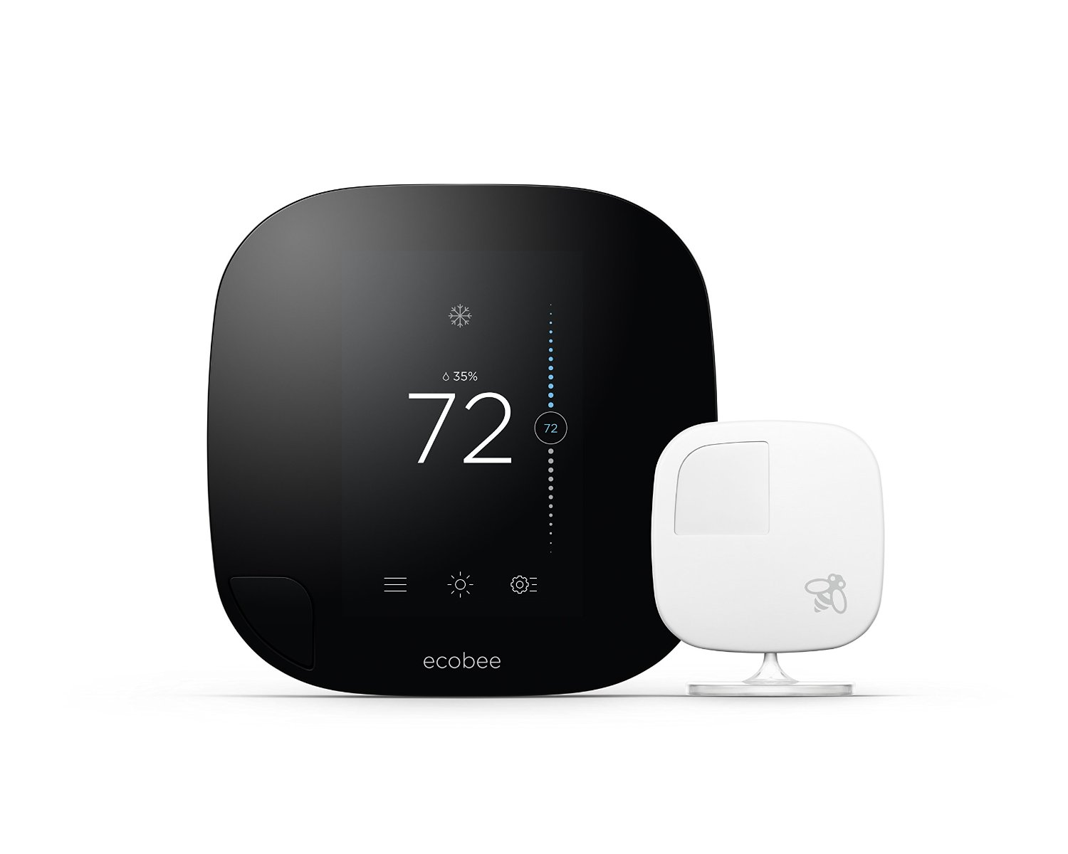 hight resolution of  ecobee 3 nest learning smart thermostat 2nd generation review honeywell rth8580wf wi fi