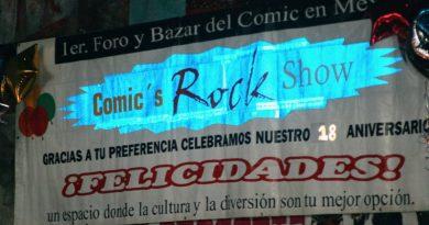 Comic's Rock Show