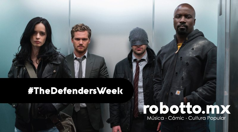 Hoy #Defiende The Defenders en Netflix.