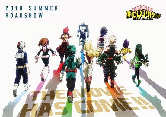 Boku no Hero Academia La Película Estrena el 3 de Agosto del 2018