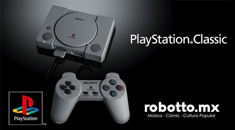 Más nostalgia Gamer con el PlayStation Classic.