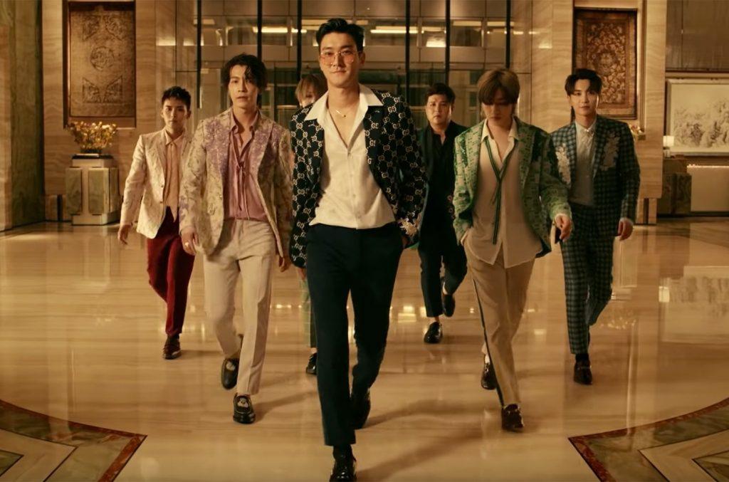 Super Junior enloquece a la multitud en los premios Telehit