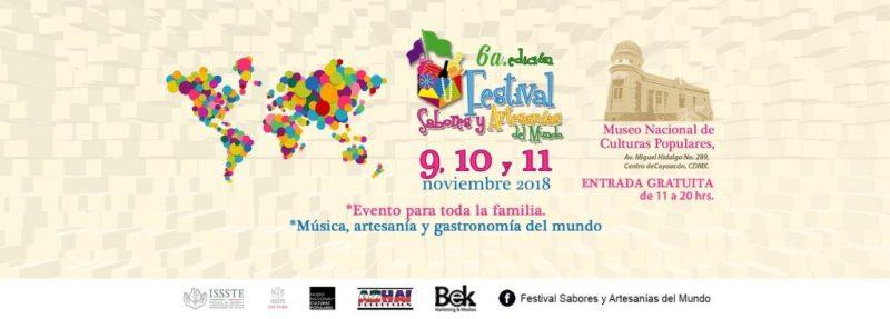 6º.  Festival Sabores y Artesanías del Mundo.