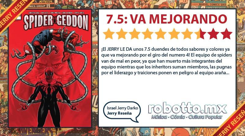 Jerry Reseña: Spider-Geddon Parte 2