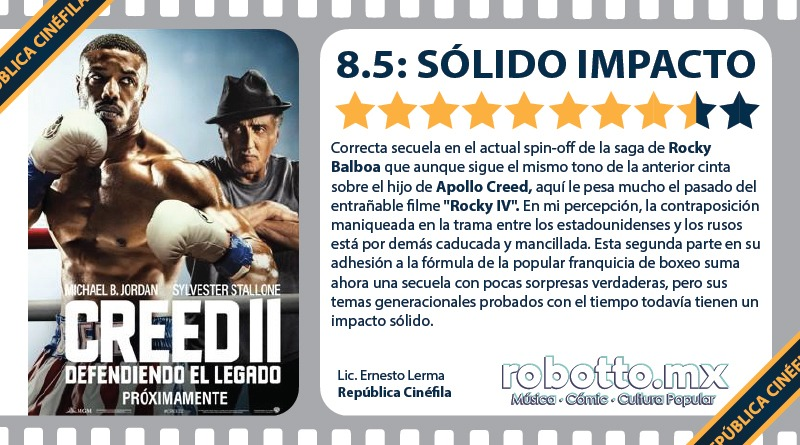 Reseña Creed 2