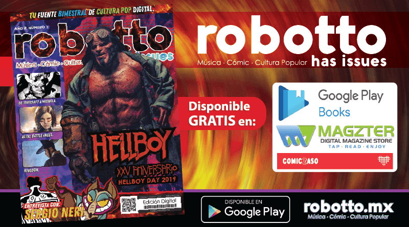 Revista Robotto Has Issues Número7