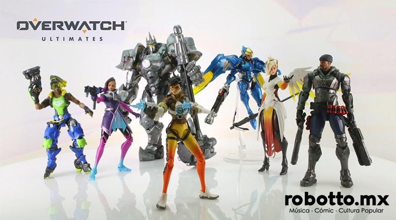 Overwatch Ultimates: La nueva línea de figuras de acción de Hasbro.