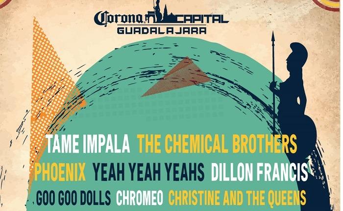 Corona Capital Guadalajara 2019 'La segunda edición del festival nos trae un Lineup que recordaras siempre'.