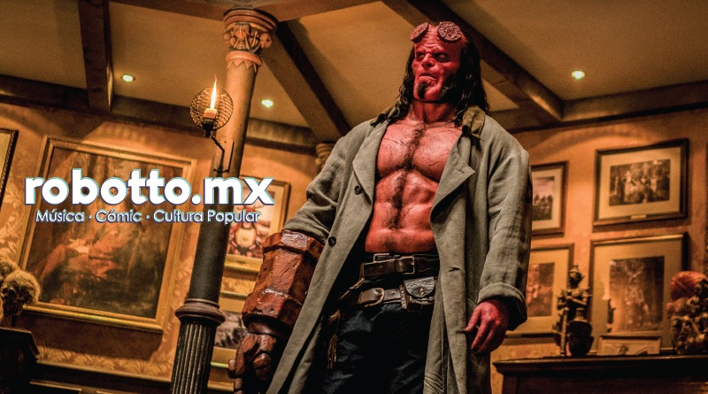 David Harbour/Hellboy viene a México